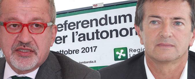 """Autonomia della Lombardia: cinquanta sfumature di """"Sì"""". Dalla Lega al Pd tutti sostengono il referendum"""