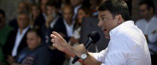 """Renzi: """"Chi va a Palazzo Chigi lo decidono i voti degli italiani"""". Poi attacca Gianroberto Casaleggio"""