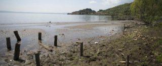Siccità, acqua razionata già in 20 comuni vicino Roma. Scontro tra Acea e Zingaretti su lago di Bracciano