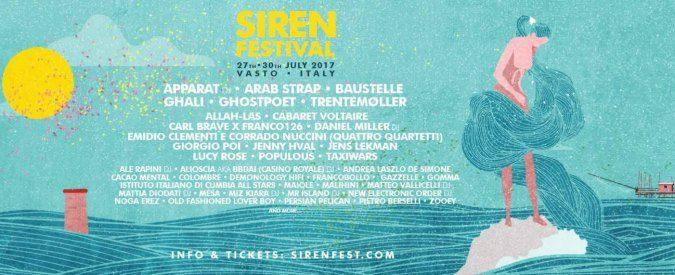 Siren Festival, è a Vasto il turismo intelligente (e una line up che è la paranza dell'anima)
