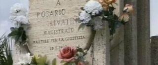 Mafia, danneggiata la stele in memoria del giudice Livatino ad Agrigento
