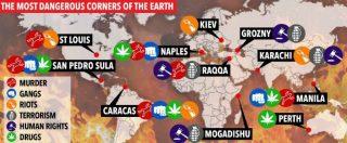 The Sun, Napoli nella classifica delle 10 città più pericolose del mondo con Raqqa e Mogadiscio