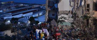 Torre Annunziata, crollo della palazzina: recuperati i corpi delle otto vittime. Ci sono anche due bambini (FOTO)