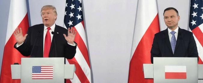 """Trump: """"Dalla Russia azioni aggressive e destabilizzanti. Corea del Nord infame e pericolosa, presto dovremo occuparcene"""""""
