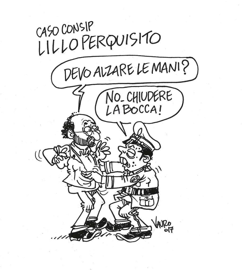 Sul Fatto del 6 luglio: Consip, tutta colpa di Lillo. Finanzieri anche a casa del padre