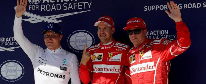 Formula 1 GP di Ungheria, doppietta della Ferrari: Vettel in pole, Raikkonen è 2°