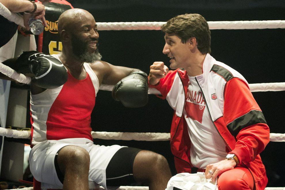 Justin Trudeau sul ring per beneficenza