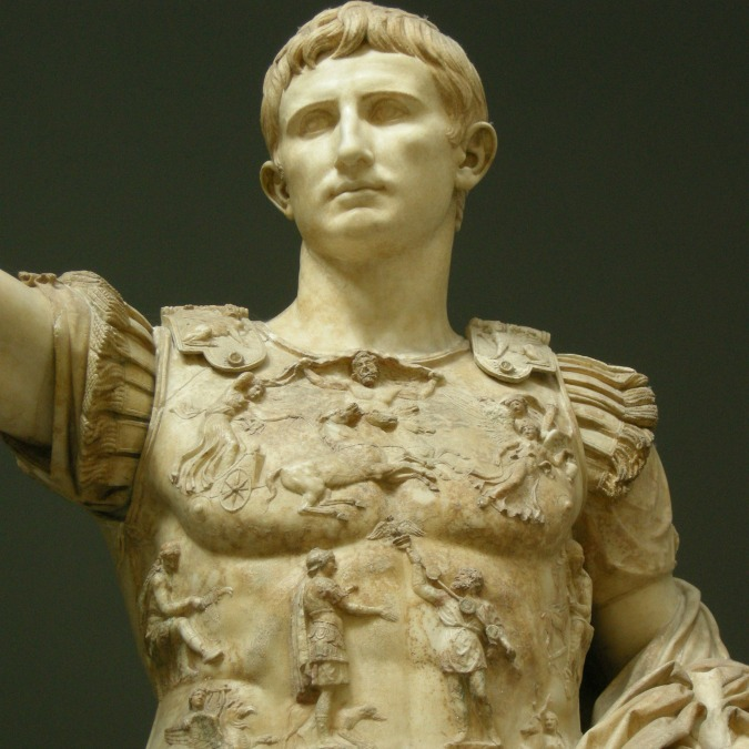 a review of the leadership of caesar augustus His great-great-grandfather was julius caesar and his great-grandfather was  augustus, while his father, germanicus, was a beloved leader in.