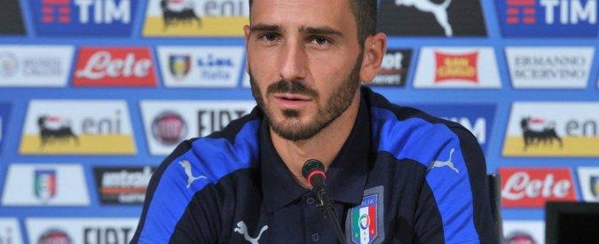 """Bonucci: """"Lasciato la Juve non per soldi ma per scelte del club. Ho avuto le palle"""""""