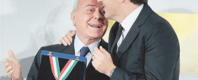 Visita riservata al Nazareno di Letta zio a Matteo Renzi