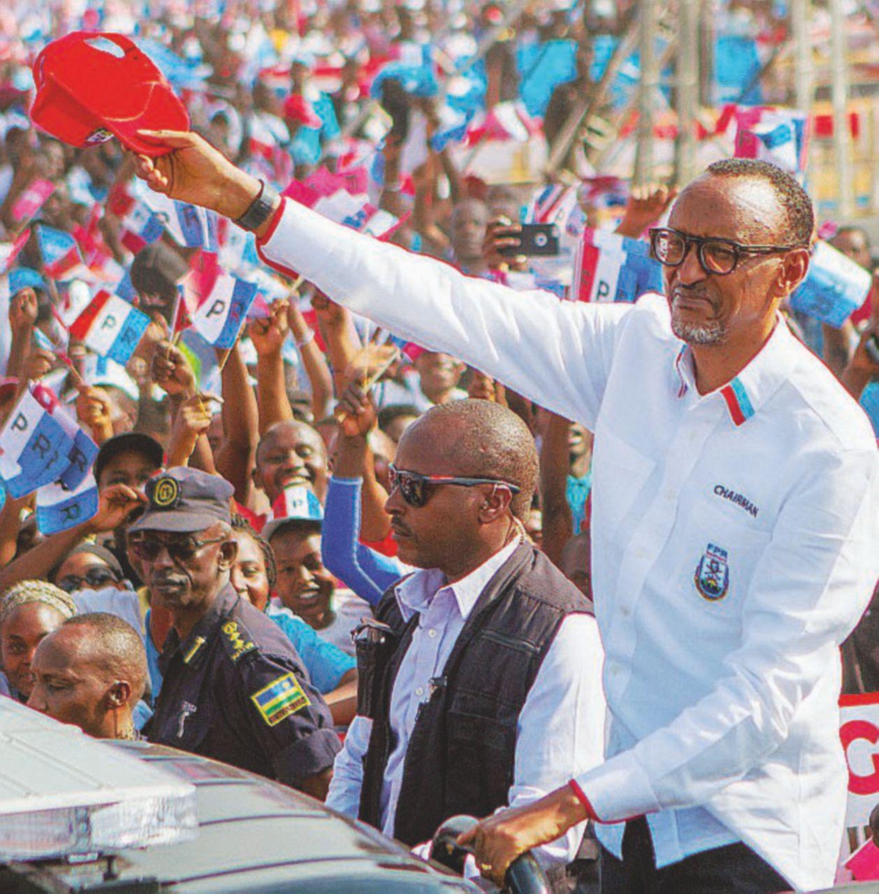 Kagame, e sarò (per sempre) il tuo presidente