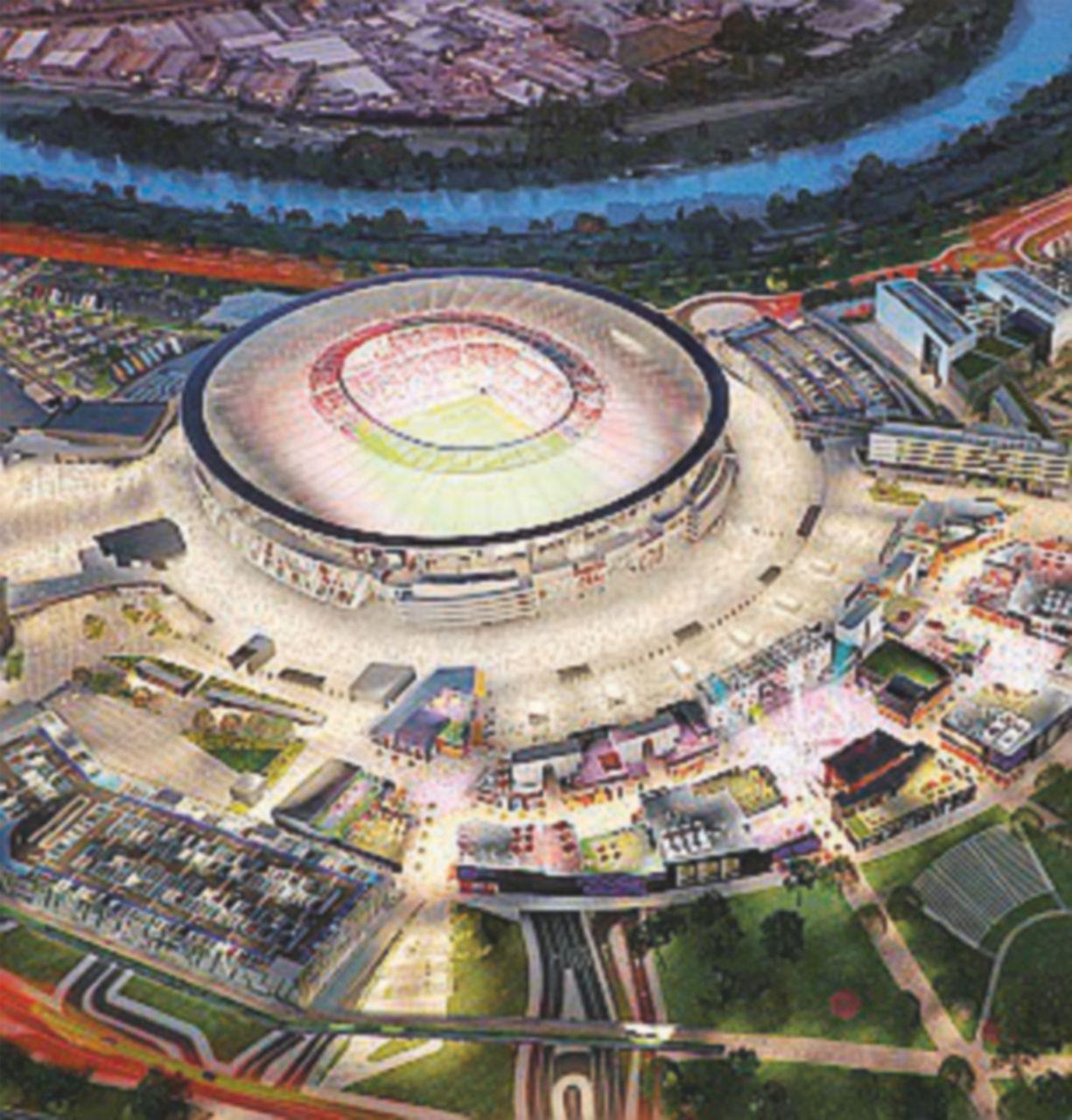 Lo stadio rimandato a settembre: senza ponte sul Tevere salta tutto