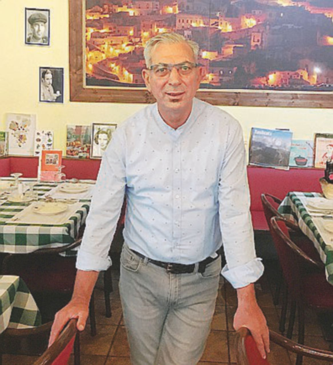 Pino, che a Berlino dona cibo all'asilo più vicino e lotta contro la mafia
