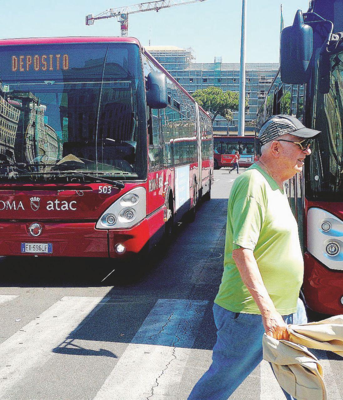 Delirio Atac: Roma rischia lo stop a un terzo dei bus