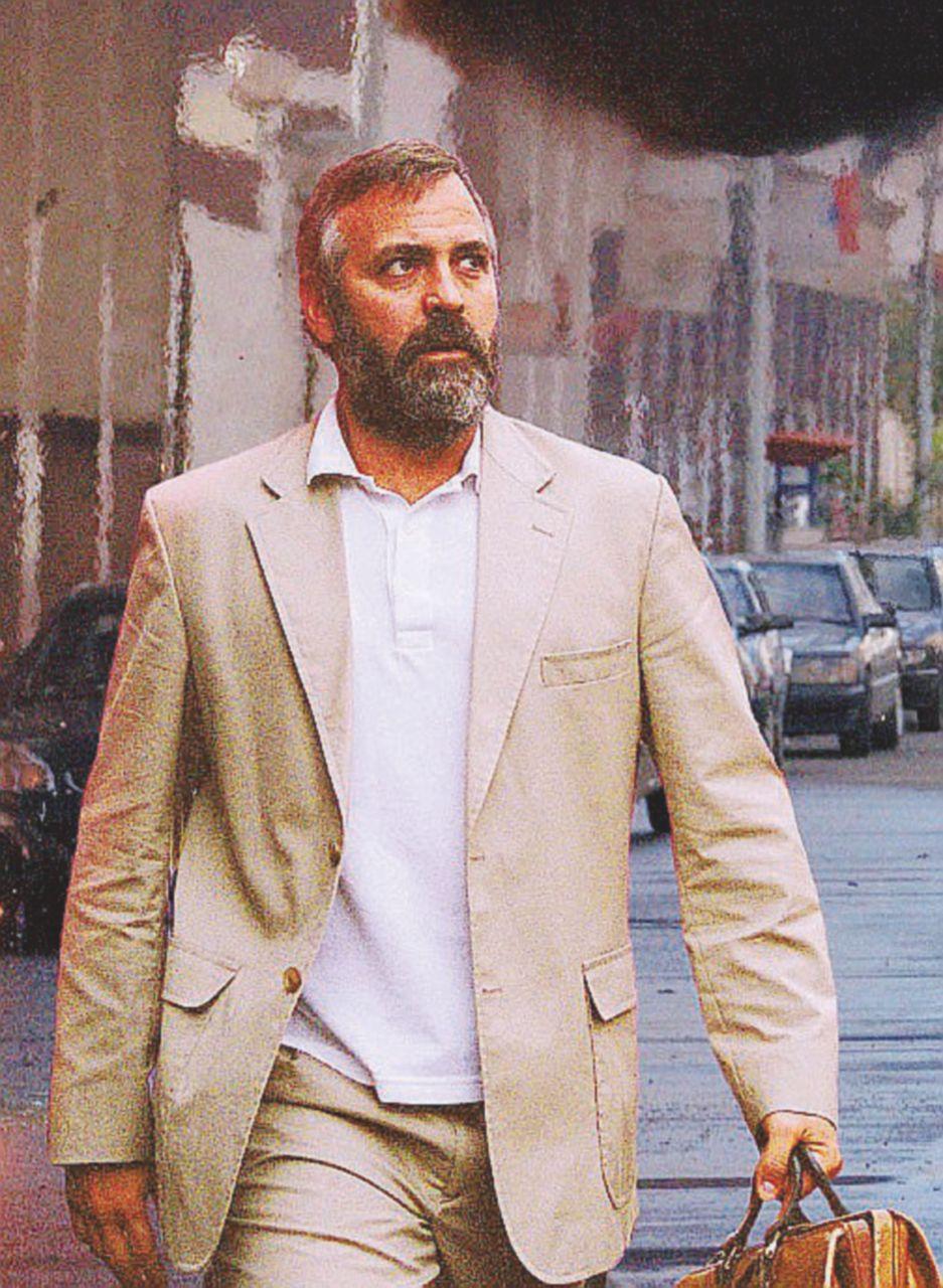 George Clooney e quella lesione da premio Oscar