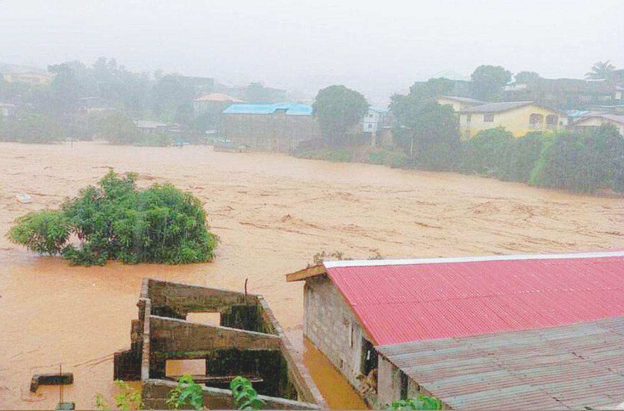 Inondazioni in Sierra Leone: oltre 300 morti