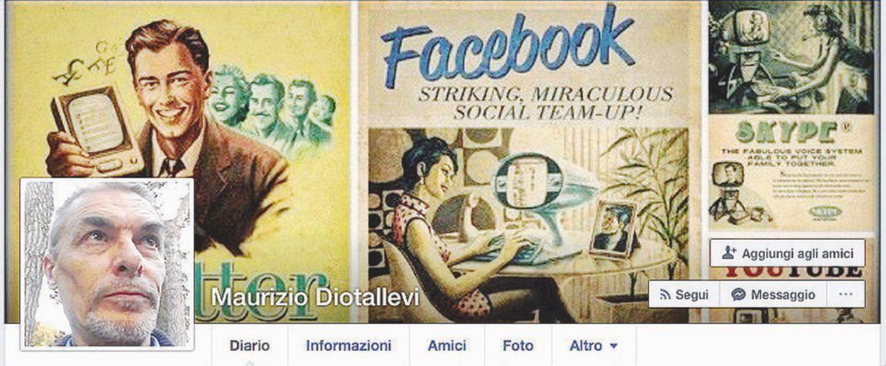 Il profilo Facebook aggiornato di un uomo che sega la sorella