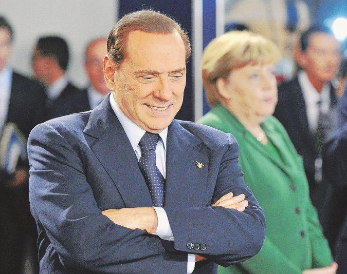 Fantastoria estiva pre-inciucio: l'asse Repubblica-Silvio-Merkel