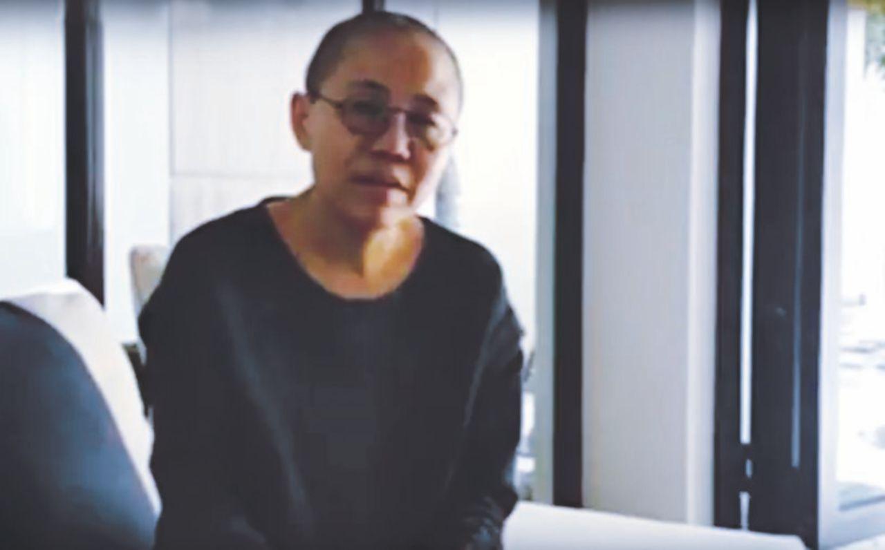 Riappare la vedova di Liu Xiaobo