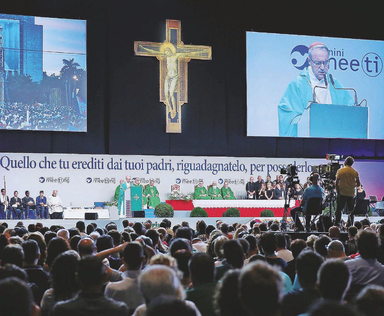 Politica addio, rimane il business: il Meeting cancella don Giussani