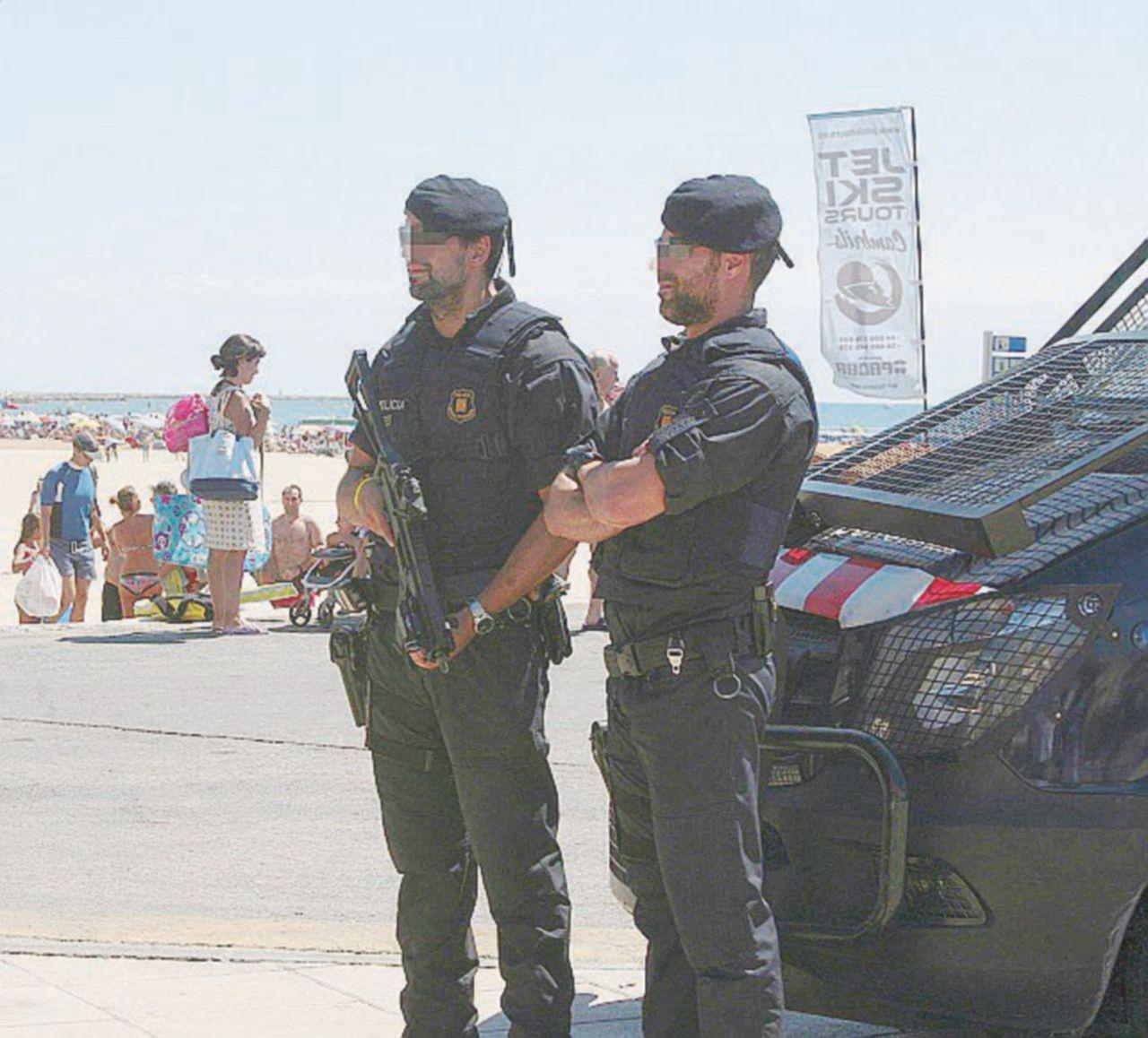 """I poliziotti iberici: """"Manca personale"""""""