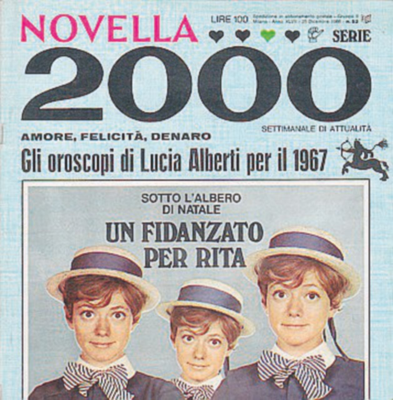 Biagi crea Novella 2000, la Santanché  la distrugge