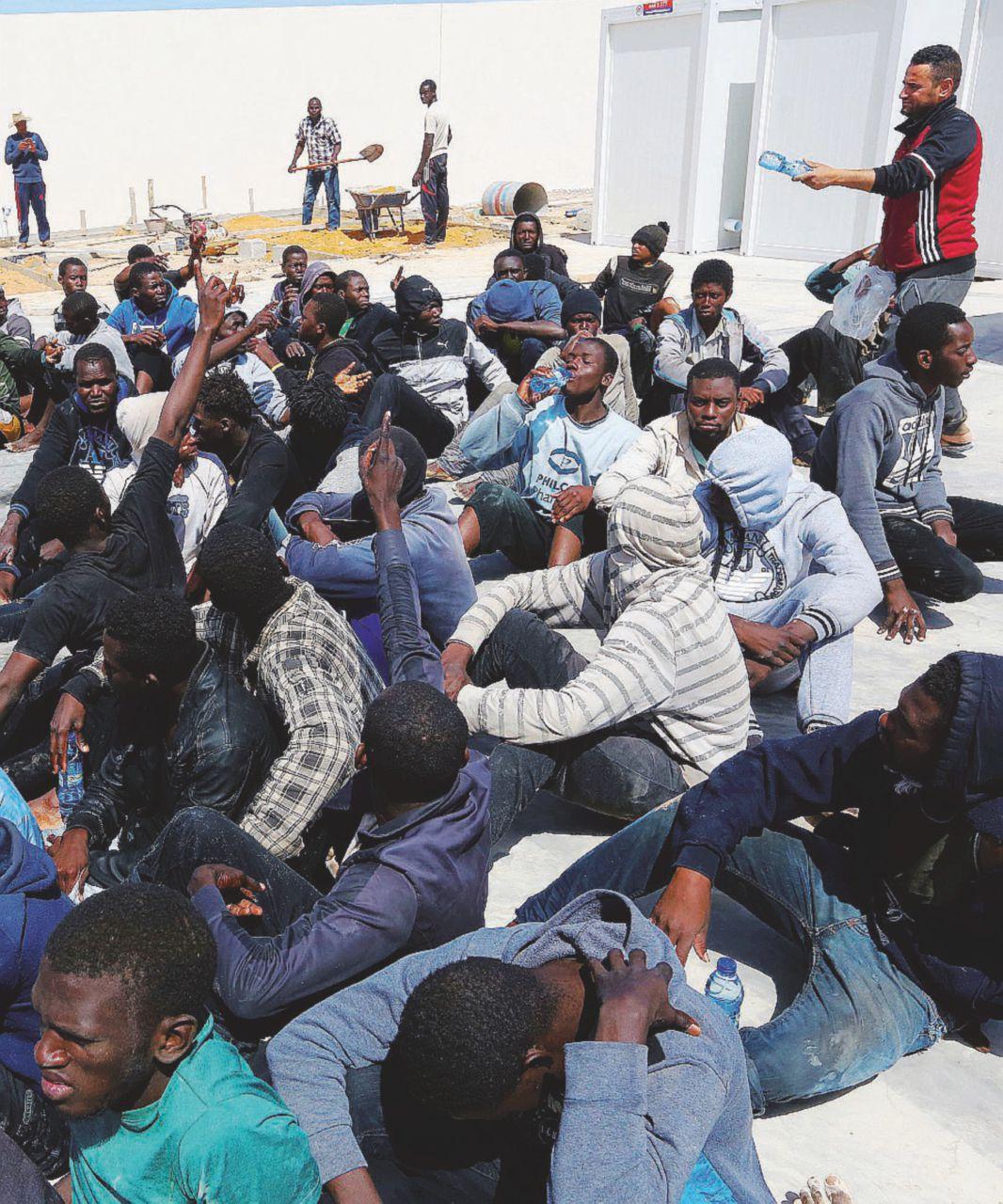 """La Brigata 48:  il """"tappo"""" libico anti-migranti"""