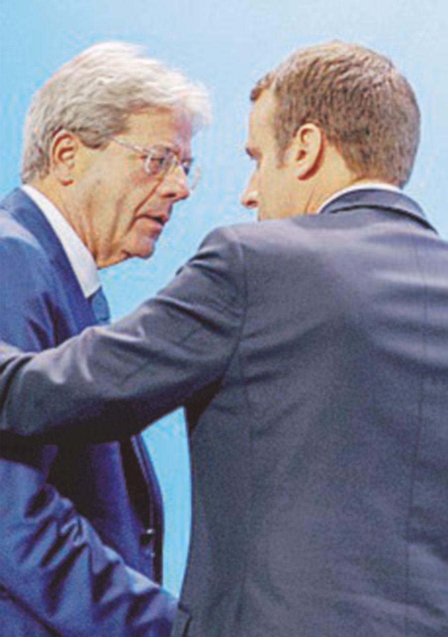 Telefonata di disgelo Macron-Gentiloni. Lunedì vertice a 4