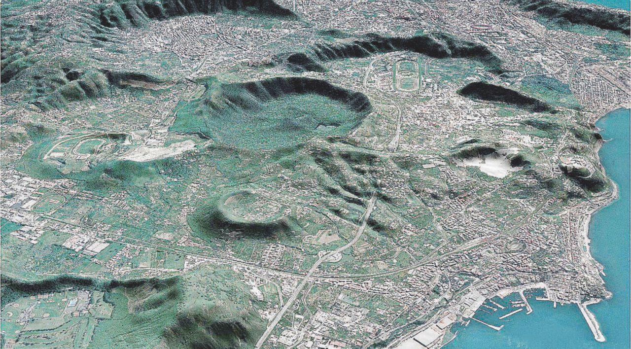 """Resta sempre """"la roulette russa Campania"""": scosse, tre vulcani e rischio idrogeologico"""