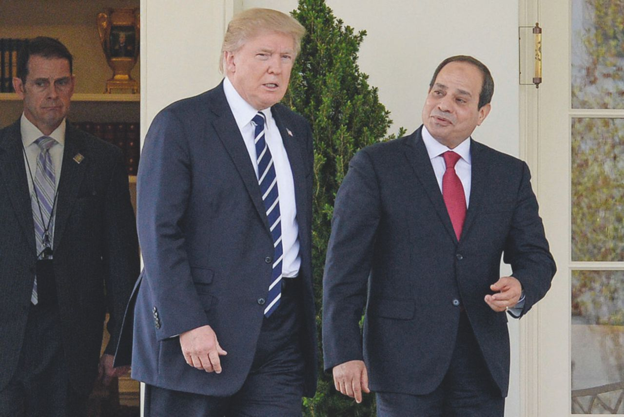 Trump cambia verso. Basta aiuti all'Egitto liberticida