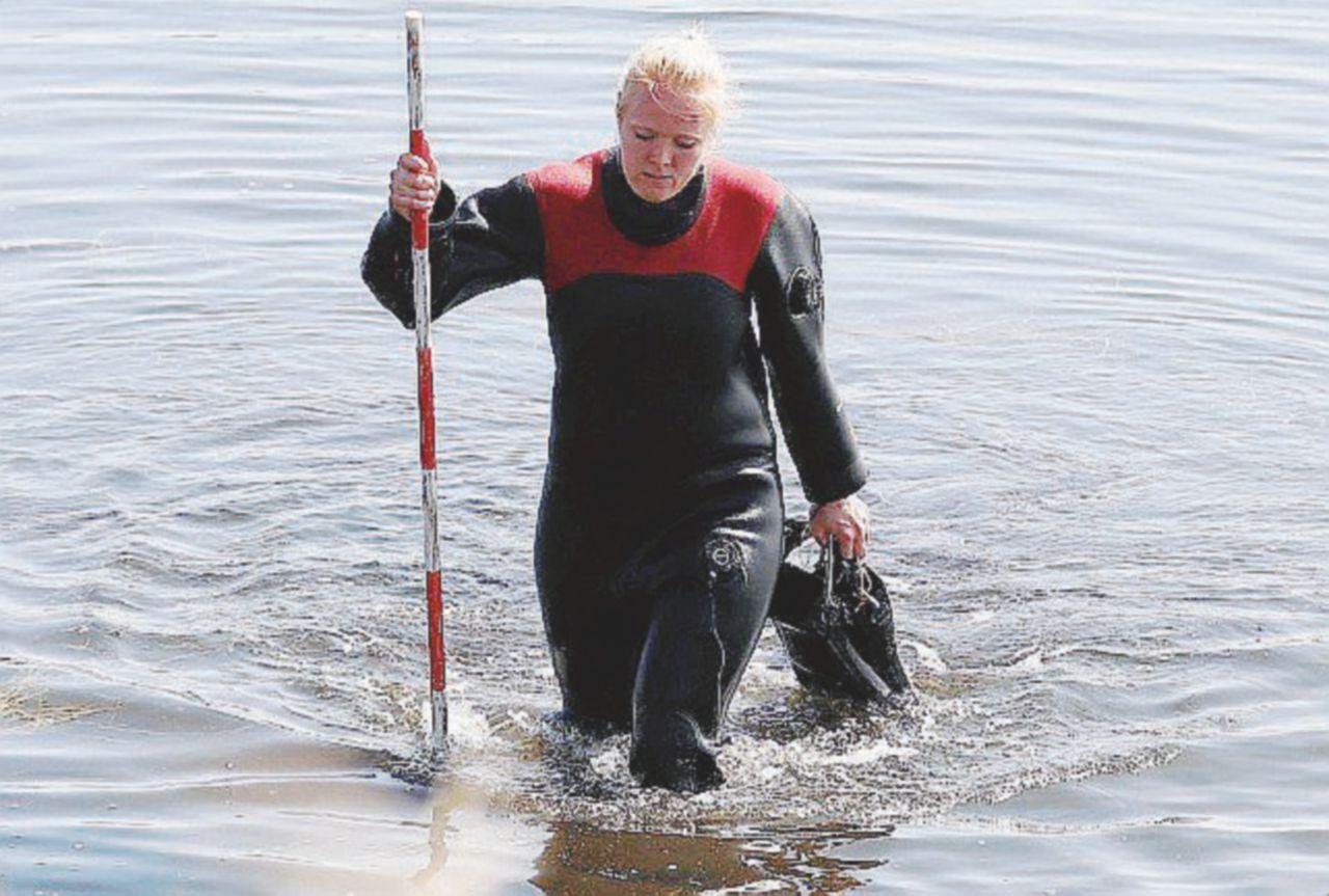 La donna che ha perso la testa per un sottomarino