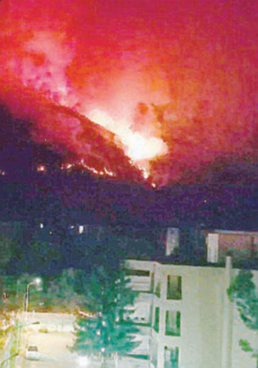 Majella in fiamme da sei giorni. Bruciati 900 ettari