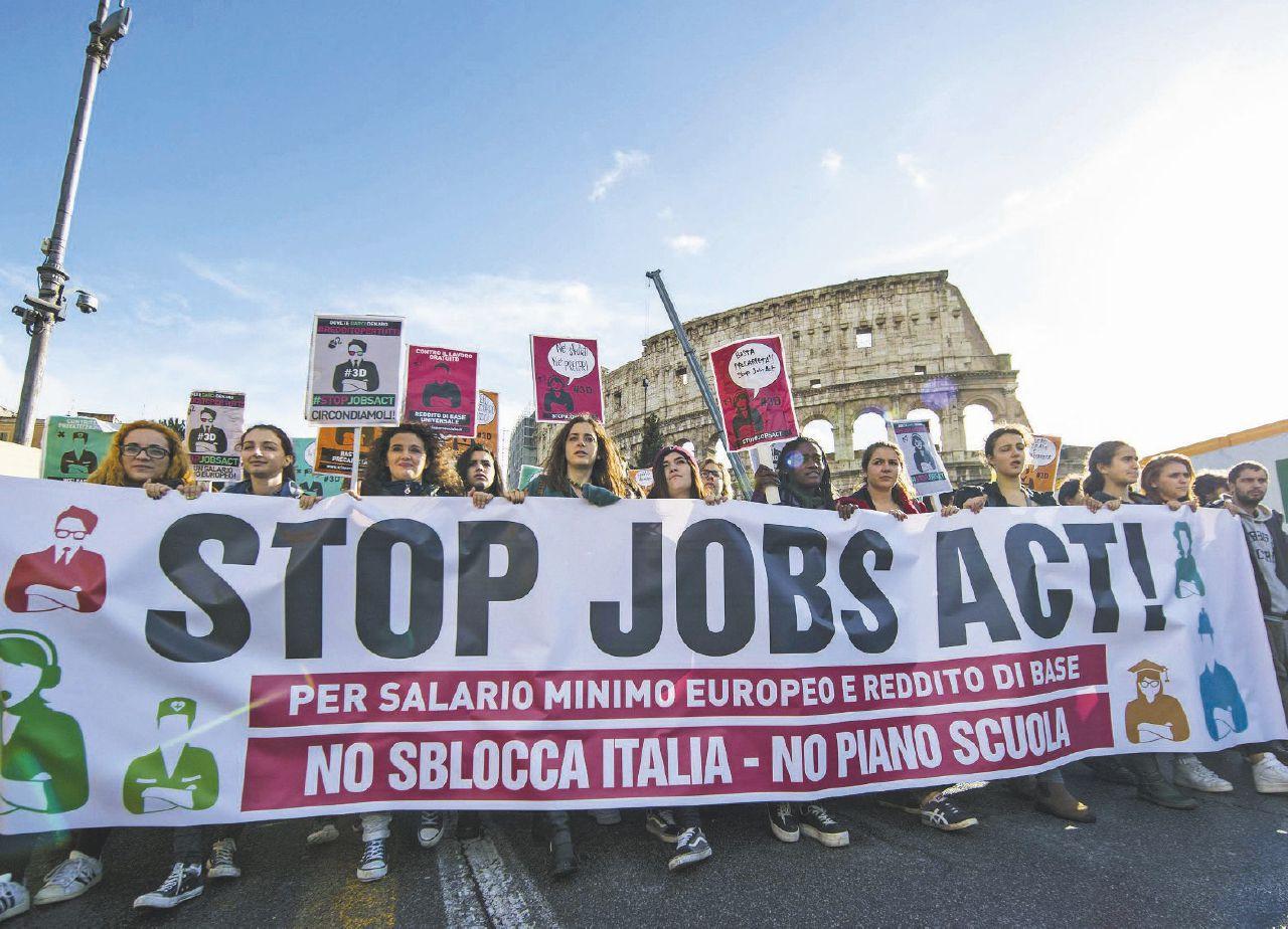 Il Jobs Act è contro il lavoro: lo scopre anche il governo
