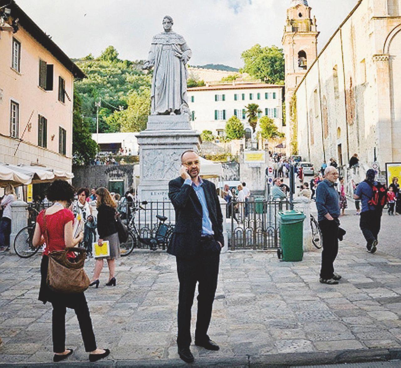 """""""Sono io Arno Saar. In Italia è impossibile tenere un segreto"""""""