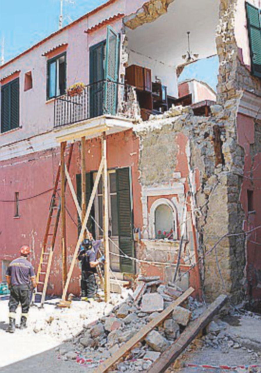 Sfollati a quota 1.494 L'Ingv: case fatte bene, ma senza protezioni