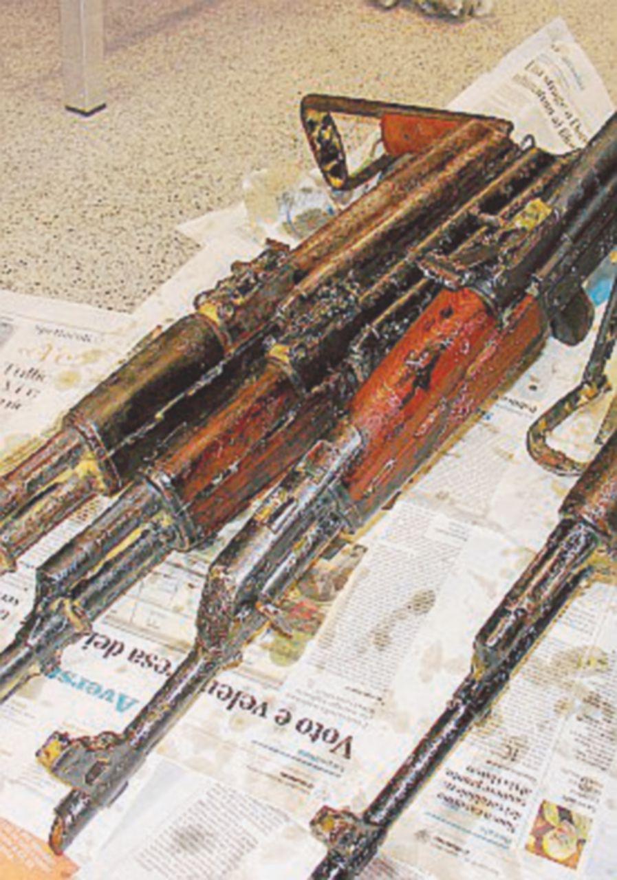 Fucili e proiettili per kalashnikov: un arresto a Vieste