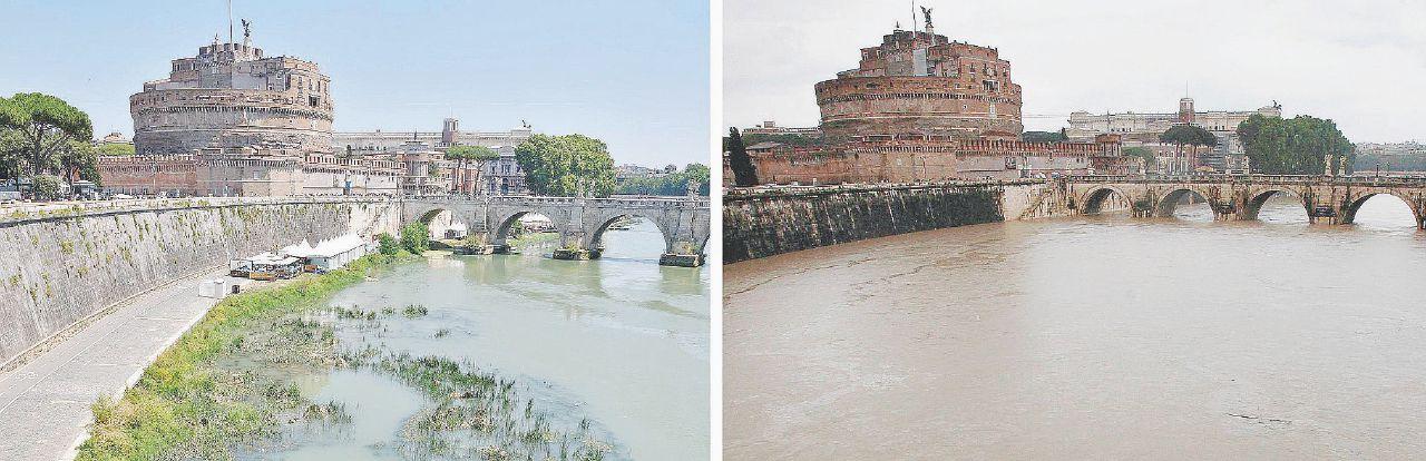 Niente pioggia, Roma a secco. Tagliata l'acqua per la notte