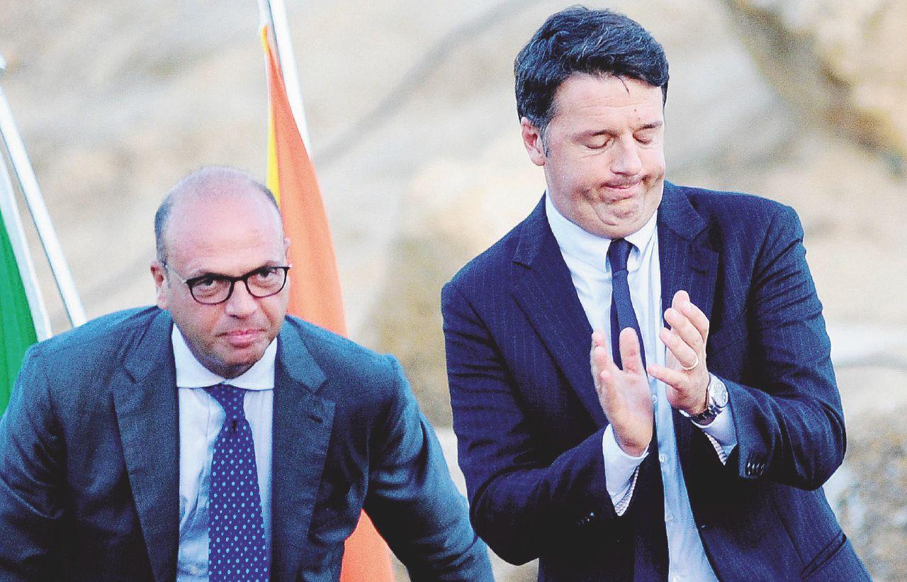 Alfano sceglie il Pd, ma teme di perdersi metà del suo  partito