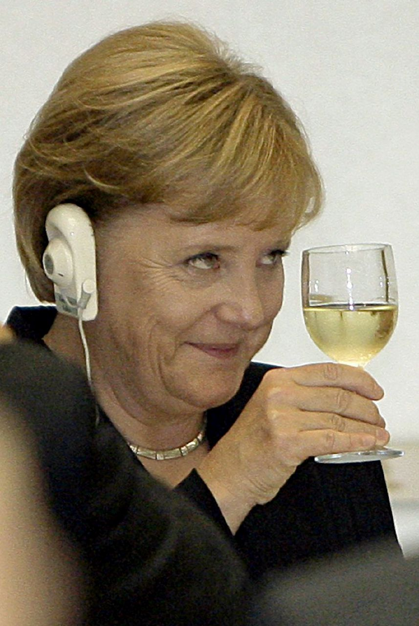 Voli elettorali, anche Merkel inciampa