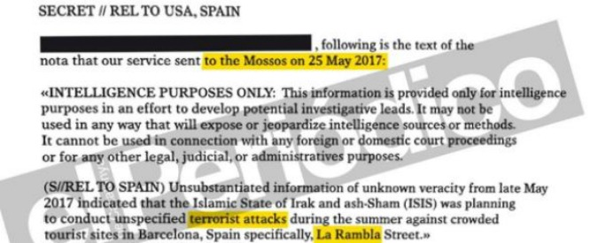 """Attentato Barcellona, """"la Cia avvisò i Mossos d'Esquadra: allerta per un attacco dell'Isis sulla Rambla durante l'estate"""""""