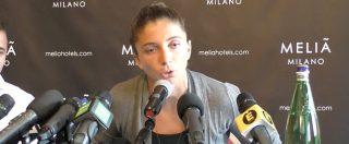"""Sara Errani all'attacco dopo il caso doping: """"Dalla stampa disinformazione, non ho fatto nulla di male"""""""