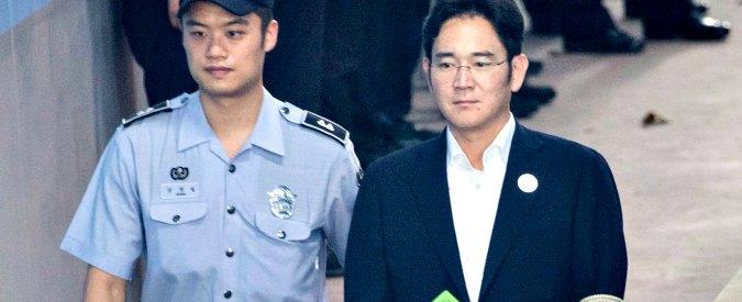 """Corea del Sud, condannato a 5 anni erede dell'impero Samsung: """"Corruzione"""""""