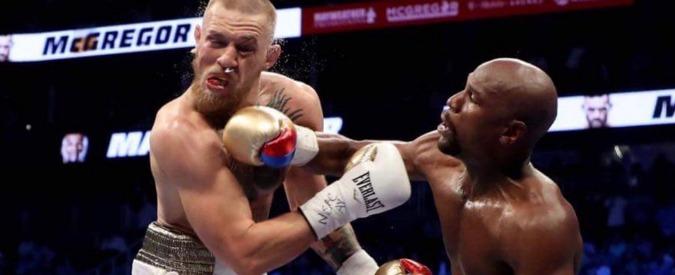 Floyd Mayweather contro Conor McGregor, il match di boxe dell'anno lo vince l'americano per ko tecnico
