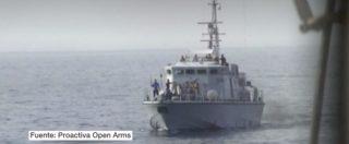 """Migranti, la denuncia della ong spagnola: """"La Guardia costiera libica ha sparato contro una nostra imbarcazione"""""""