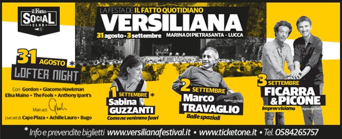 Versiliana 2017, la festa del Fatto Quotidiano presenta LOFT