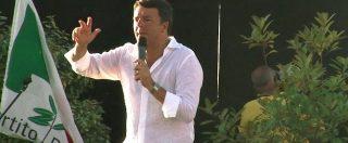 """Migranti, Renzi: """"La sindaca di Codigoro ha sbagliato ma è giusto aiutarli a casa loro"""""""