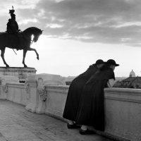 Roma, il Vittoriano (1954-56) foto di Arturo Zavattini
