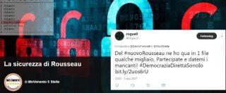 """Rousseau, l'associazione: """"Attacco hacker è un crimine contro M5s con fini politici"""""""