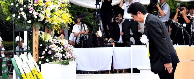 """Nagasaki, 72 anni fa la bomba atomica. Sindaco contro Abe: """"Tokyo aderisca al Trattato sulla proibizione del nucleare"""""""