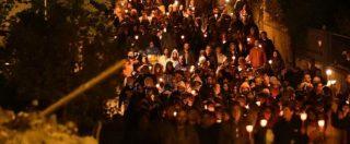 Terremoto Centro Italia, un anno fa la scossa: veglia ad Amatrice, 249 rintocchi di campana in ricordo delle vittime